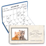 Calendars - Kitten Friendship 2 Year Personalized Planner