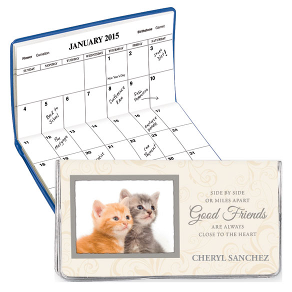 Kitten Friendship 2 Year Personalized Planner