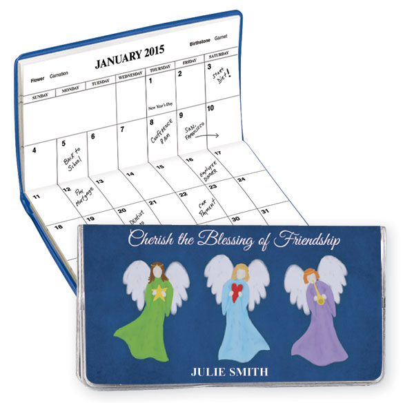 Angel Friendship 2 Year Personalized Planner
