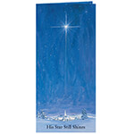 Religious - The Star Still Shines Christian Christmas Card Set of 20