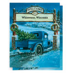 Secular - Nostalgic Village Christmas Card Set of 20