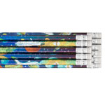 Labels & Stationery - Space Galaxy Pencils, Set of 24