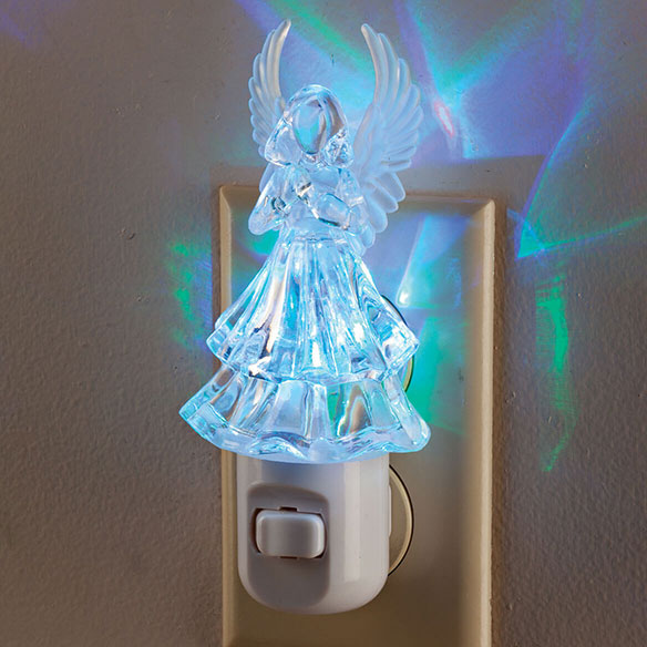 Color Changing Angel Night Light