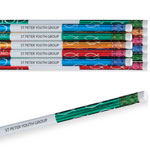 Home Office - With God Foil Pencil Assortment Set of 12