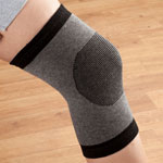 Mobility, Braces & Footcare - Men's  Bamboo Knee Support