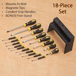 Special Values - 18 Piece Screwdriver Set with Bonus Stand
