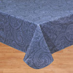 Table Covers - Paisley Vinyl Table Cover