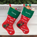 Pets - Personalized Pet Stocking