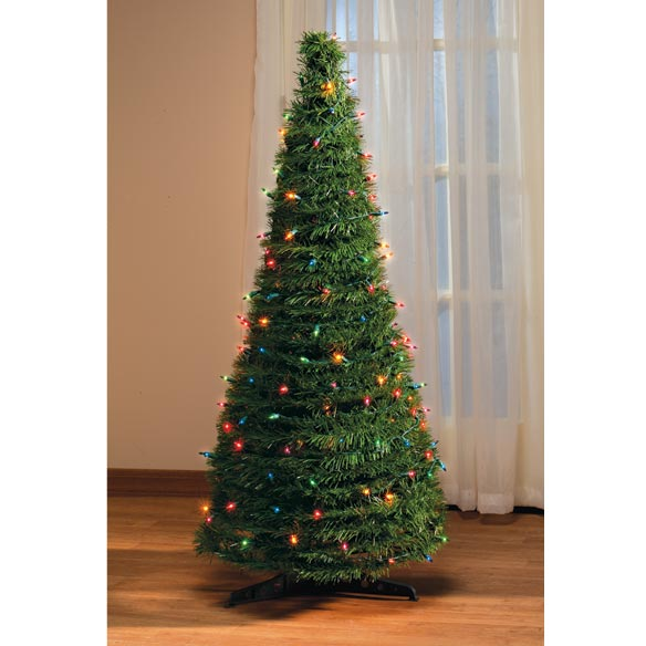 Pop Up Lighted Christmas Tree 4 Ft.