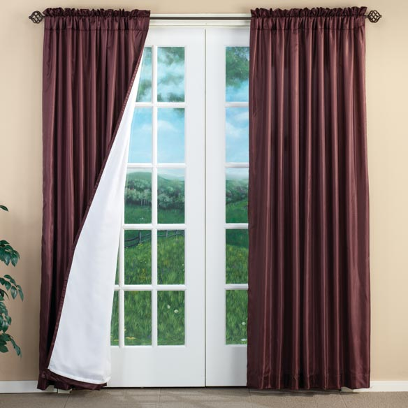 Cypress 3-Layer Energy Saving Curtains - Set of 2
