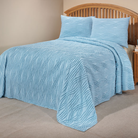 The Hannah Chenille Bedding - View 1