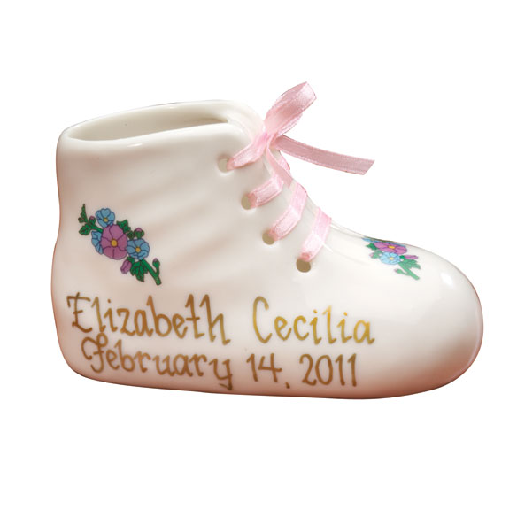 Personalized Baby Bootie