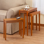 Accent Furniture - Nesting End Tables - Set Of 3