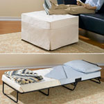 Accent Furniture - Ottoman Bed