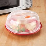 Small Appliances & Accessories - Vented Microwave Cover