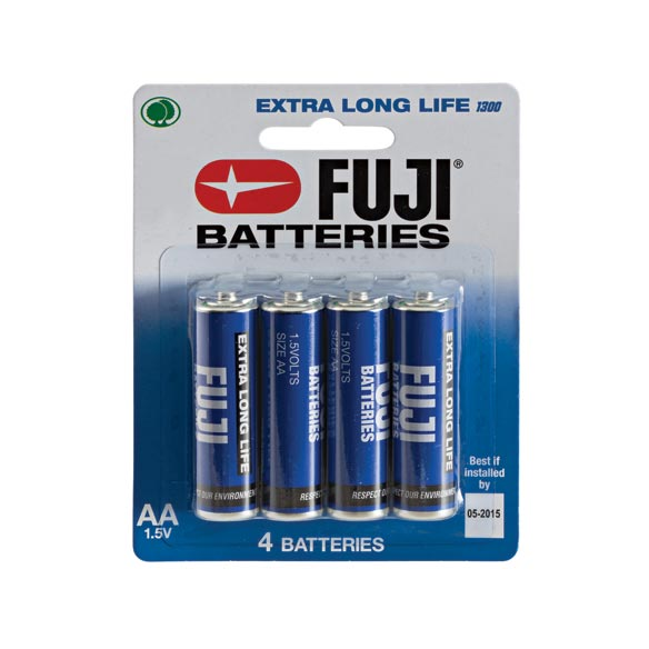 Fuji AA Batteries, 4-Pack