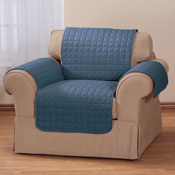 Microfiber Chair Protector by OakRidge Comforts Olive