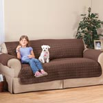 Buy 2 and Save! - Microfiber Sofa Protector by OakRidge Comforts™