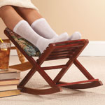 Accent Furniture - Foldable Rocking Footrest