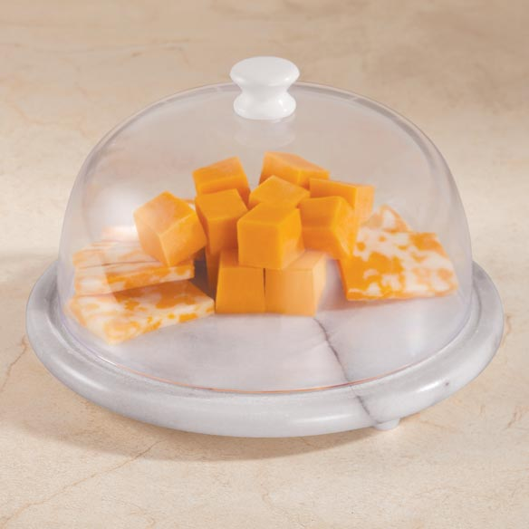 Marble Cheese Board With Cover