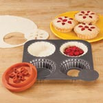 Kitchen - Mini Pie Tart Pan And Dough Cutter