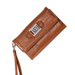 Closeout Deals - Fashion Clutch - Brown