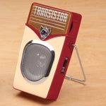 Home Entertainment - Retro Transistor Radio