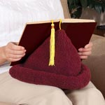 Home Office - Sherpa Book Pillow