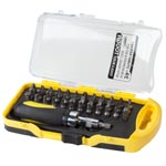 Home - Tool Solutions™ 39 Piece Stubby Ratchet Screwdriver Bit Set