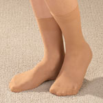 Footwear & Hosiery - Diabetic Nylon Ankle Hose 5 Pair
