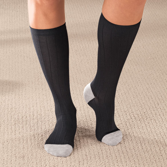 Silver Lined Support Socks