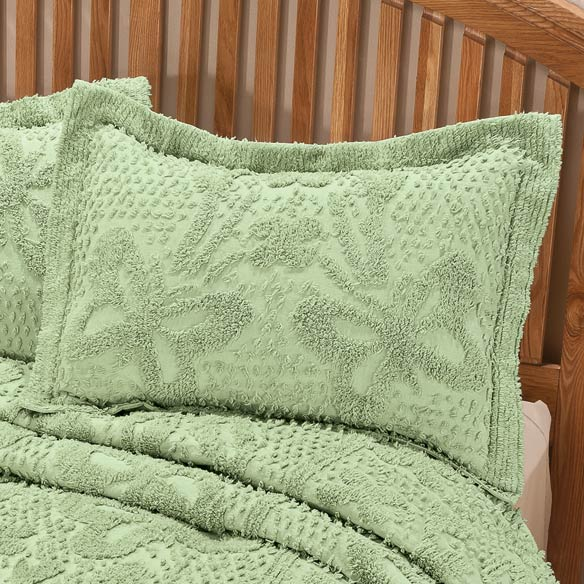 The Caroline Chenille Bedding Sham