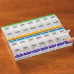 Supplements & Creams - XL Push Button Medication Planner