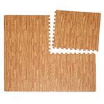 Organization & Decor - Wood Grain Anti-Fatigue Mats - Set Of 4
