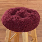 Sherpa Bar Stool Cushion by OakRidge Comforts™