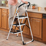 Home Improvement & Cleaning - Step Ladder and Stool Combo     XL