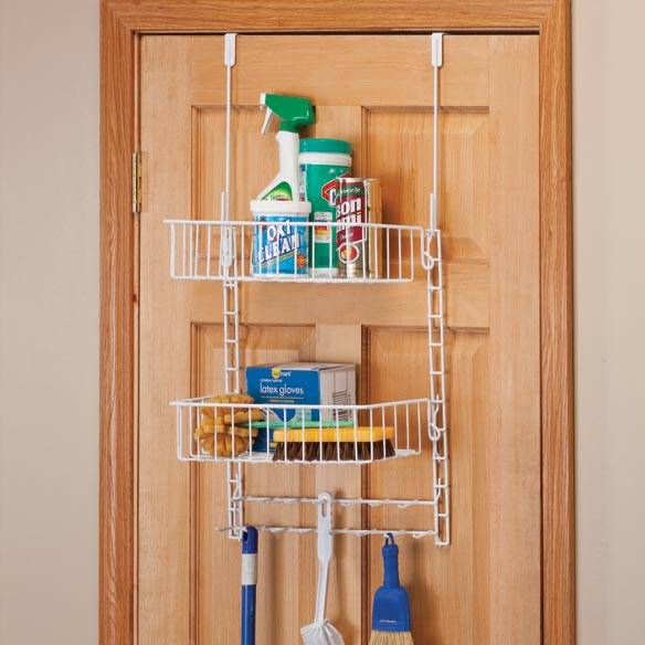 Over The Door Cleaning Supply Organizer