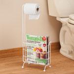 Bath Accessories - Toilet Paper Holder Magazine Stand
