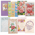 Memos, Notepads & Cards - Anniversary Cards Value Pack of 24