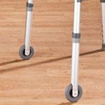 "Mobility, Braces & Footcare - Walker Wheels 3"", Set of 2"