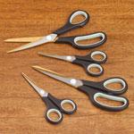 Home Office - Titanium Scissors Set of 4