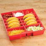 Gadgets & Utensils - Taco Serving Tray