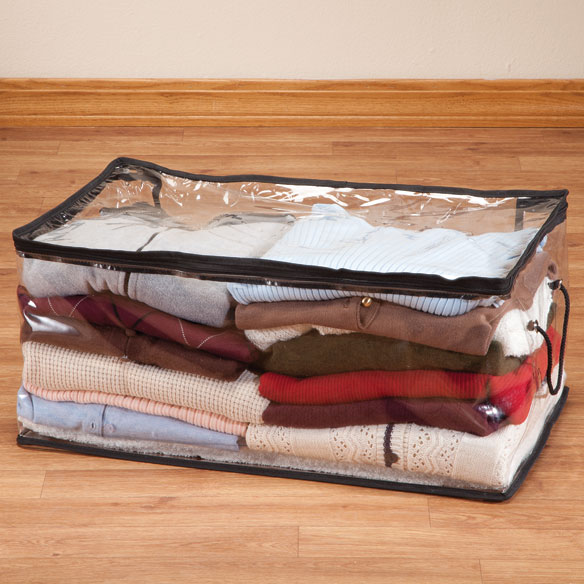 "Zippered Sweater Storage 24""x10""x14"""