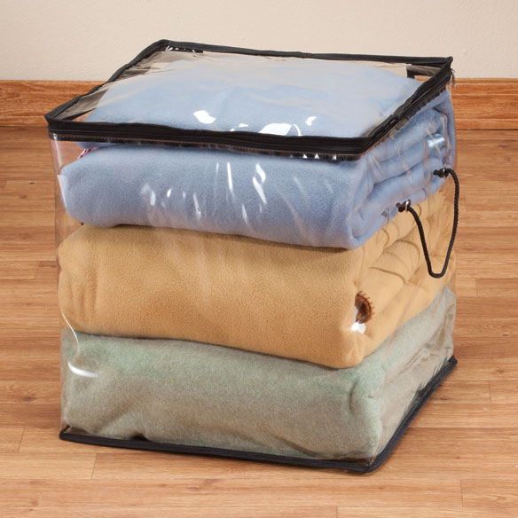 "Zippered Storage Cube 16""x16""x16"""