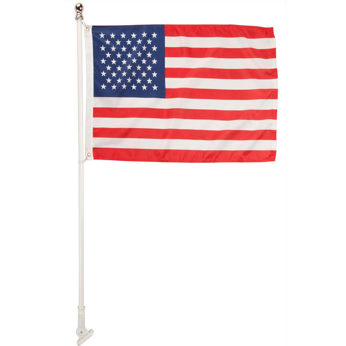 Tangle Free Flag Pole with Flag-348288