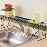 Organization & Decor - Expandable Over the Sink Shelf