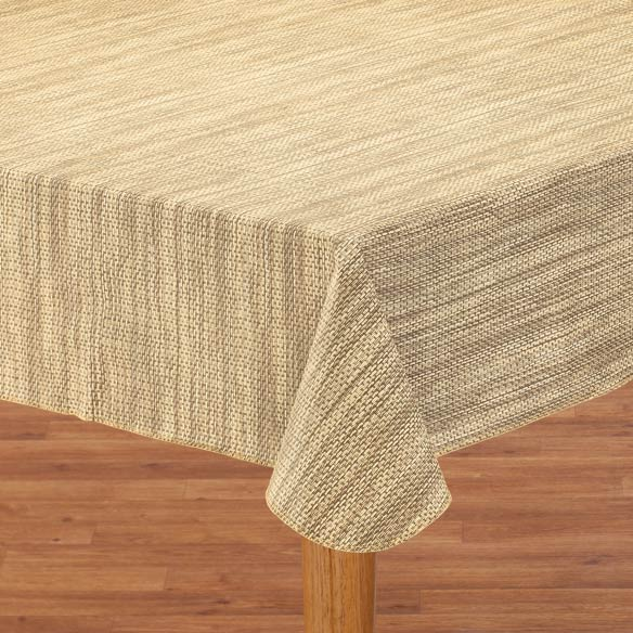 Basketweave Table Cover