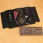 Jewelry & Accessories - Leopard Print Jewelry Roll