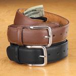 Jewelry & Accessories - Leather Money Belt