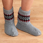 Footwear & Hosiery - Warm Snuggle Slippers